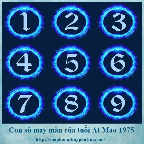 Truy tìm con số may mắn của tuổi Ất Mão 1975